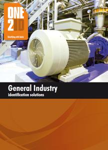 ONE2ID Flyer etiketten Algemene Industrie