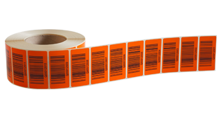 ONE2ID barcode etiketten pallet