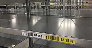ONE2ID barcode etiketten voor picklocaties