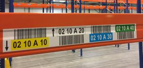 ONE2ID barcode etiketten met kleurcodering