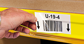 ONE2ID verwijderbaar barcode etiket
