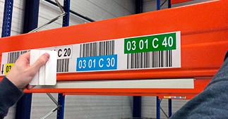 ONE2ID tips voor zelf etiketten aanbrengen magazijn