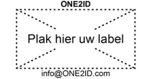 ONE2ID label adapter gemakkelijk etiketten verwijderen magazijn