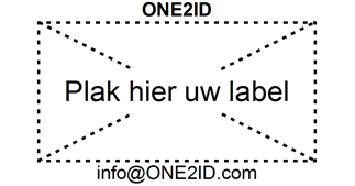 ONE2ID label adapter reusable labels warehouse