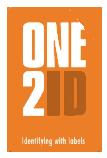 ONE2ID blanco en voorbedrukte etiketten