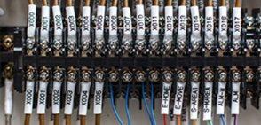 ONE2ID barcode etiketten voor de elektrische industrie