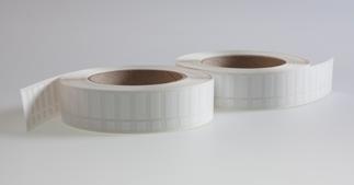 ONE2ID polyester typeplaatje etiket