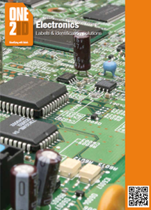 ONE2ID Electronics brochure labels components PCB
