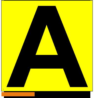 ONE2ID magazijn geel bord gangpad