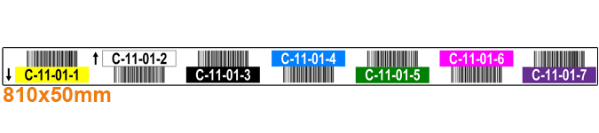 ONE2ID label palletstelling barcodes