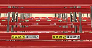 ONE2ID magazijn etiketten met kleur