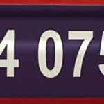 ONE2ID magazijnlabel paars hoogtekleur