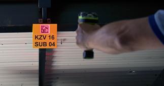 ONE2ID reflectieve etiketten borden bulklocatie magazijn scannen barcode QR code