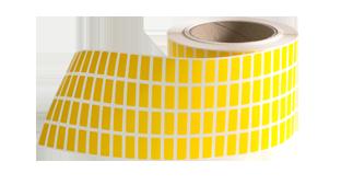 ONE2ID blanco labels geel industrie