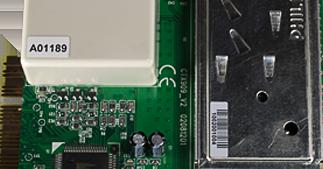 ONE2ID etiketten PCB elektronica