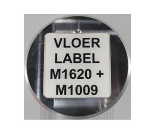 ONE2ID label magazijnvloer bulklocatie