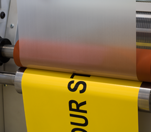 ONE2ID mat laminaat etiketten magazijn industrie