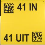 ONE2ID hangbord bulklocatie magazijn