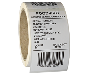 ONE2ID barcode labels product id voorraadbeheer