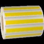 ONE2ID geel zelflaminerend label