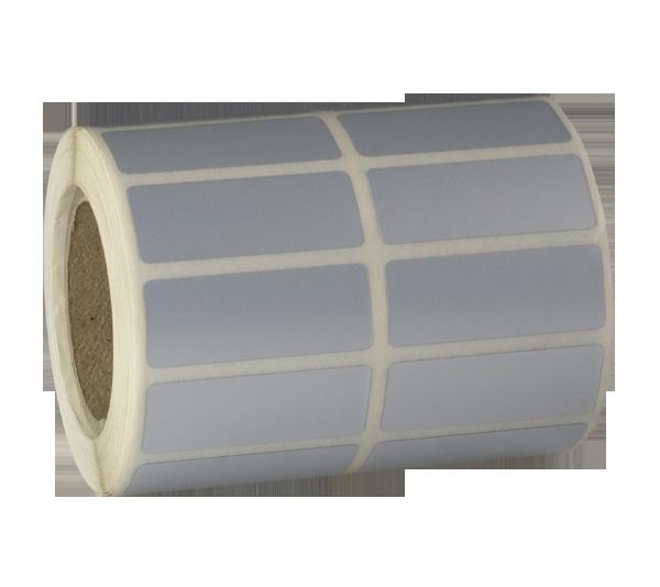 ONE2ID gemetalliseerd zilver etiket typeplaatje