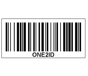 ONE2ID barcode streepjescode labels ontwerpen