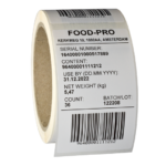 ONE2ID barcode etiket voedingsmiddelen