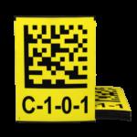 ONE2ID 2D datamatrix code op magneet