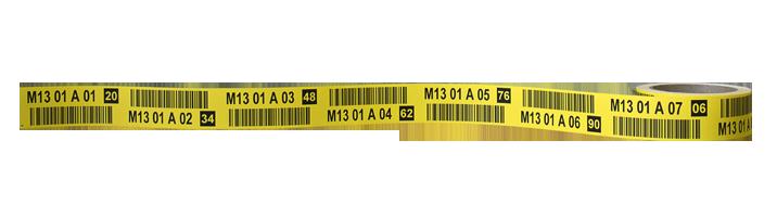ONE2ID labels magazijnstellingen pallets