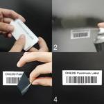 ONE2ID Paintmask label etiket natlakken poedercoaten