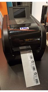ONE2ID TSC label printer