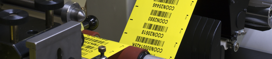 ONE2ID barcode labels printen logistiek en industrie