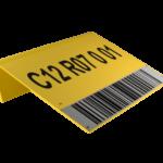 ONE2ID magazijnborden met barcode bulklocatie opslag