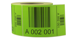 ONE2ID LPN pallet ID labels magazijn inventaris