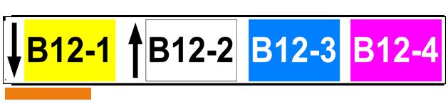 ONE2ID magazijn stellinglabels met kleur