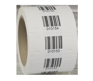 ONE2ID TAG weerbestendig etiket buitengebruik met barcode
