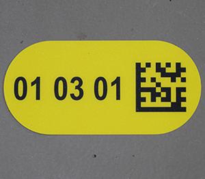 ONE2ID vloerlabel magazijn bulklocatie opslag scannen