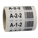 ONE2ID stellinglabels magazijn barcode kleur
