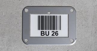 ONE2ID magazijnvloer frame bulklocatie opslag