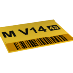 ONE2ID magazijnbord bulk opslag lange afstand scannen