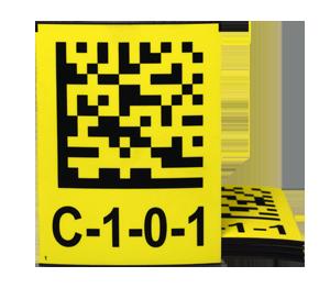 ONE2ID magneetlabels magazijn industrie etiketten
