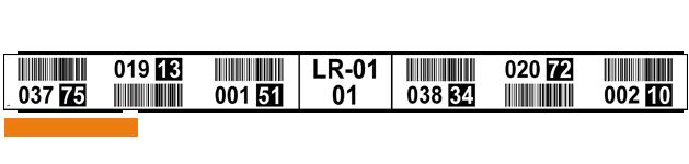 ONE2ID magazijnlabels stellingen locaties
