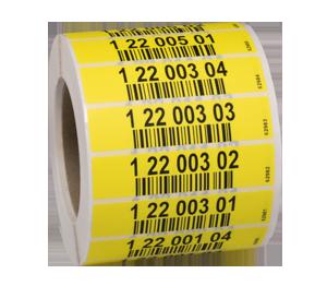 ONE2ID magazijnlabelss etiketten pickstelling