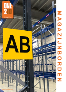 ONE2ID brochure magazijnborden locatieborden