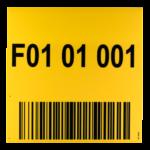 ONE2ID magazijnborden bulklocatie gangpad stellingen laaddock