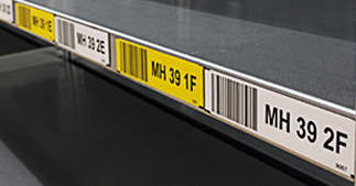 ONE2ID magneten picklocatie magazijn magneetlabels