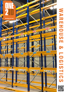 ONE2IS brochure warehouse labels and signs