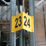 ONE2ID magazijnbord stelling V-bord