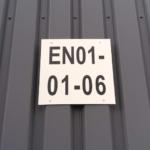 ONE2ID magazijnbord buitengebruik