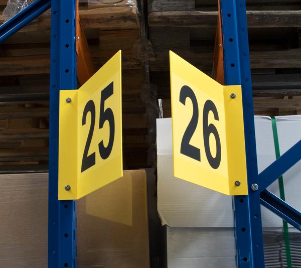 ONE2ID V-bord stelling magazijnborden